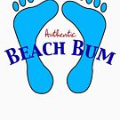 Authentic Beach Bum by pjwuebker