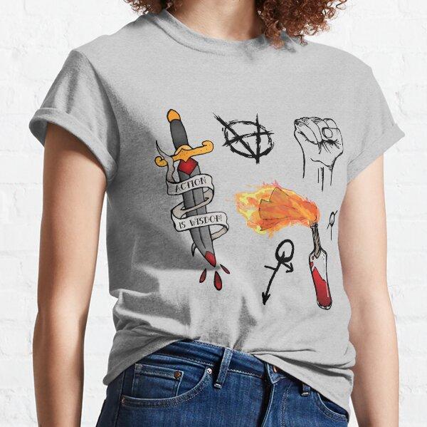 Brujah Clan Pattern (Vampire: the Masquerade) Classic T-Shirt