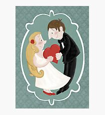 Happily in love Photographic Print