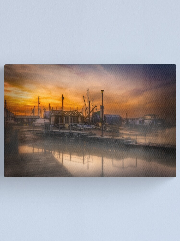 Alternate view of The Jetty  Canvas Print