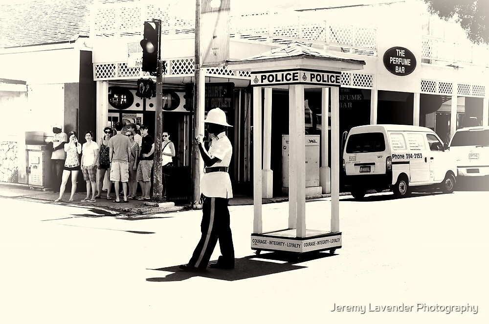 Doing the circulation on Bay Street in Nassau, The Bahamas by Jeremy Lavender Photography