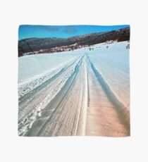 Winter road into the mountains Scarf