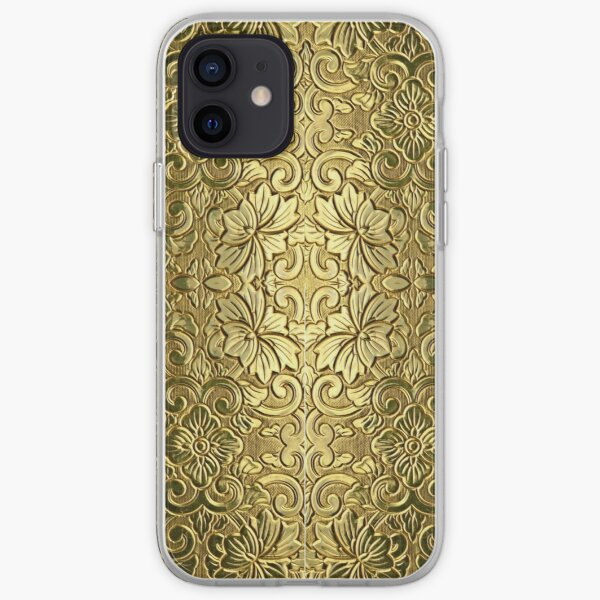 Decoration in Gold iPhone Soft Case