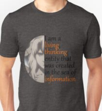 Ghost in the Shell quote from the Puppet Master T-Shirt