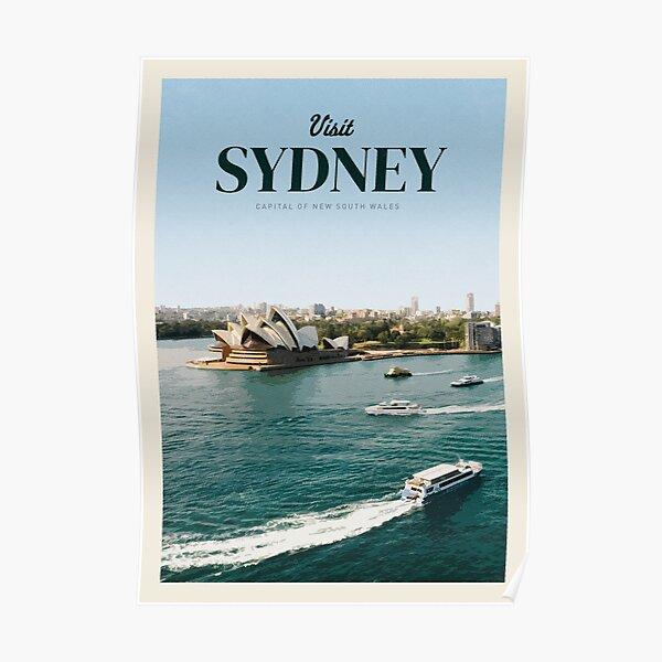 Visit Sydney Poster