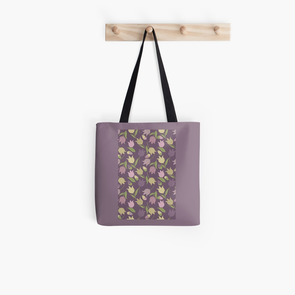 Tulips Pattern  Tote Bag