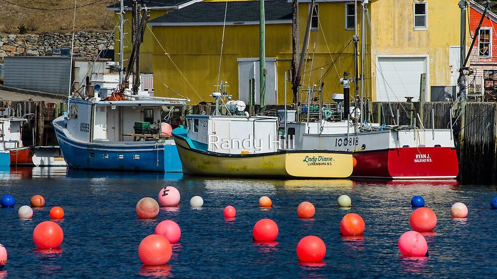 South Shore Fishing Boats by Randy Hill