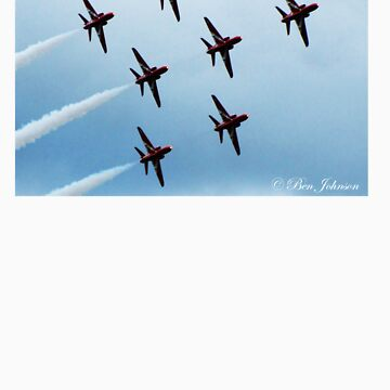 Red Arrows by guffman990