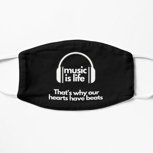 La musique est la vie Masque sans plis