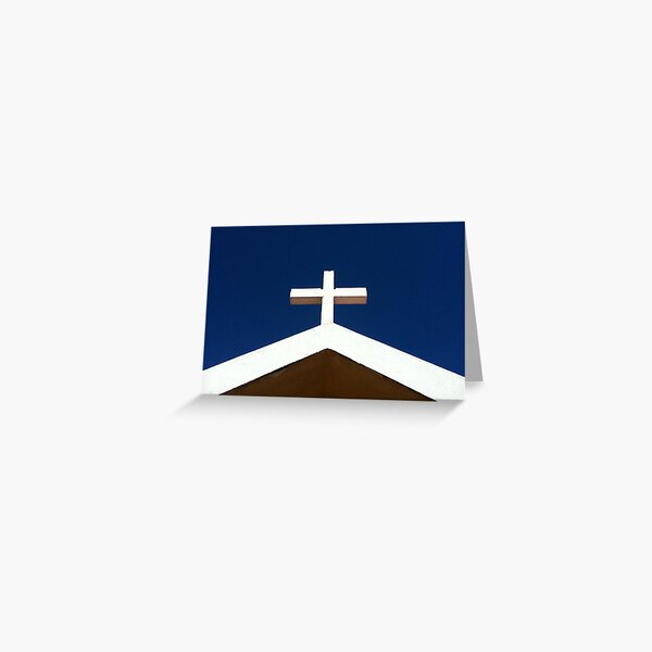 Don't Get Cross In Madeira Greeting Card