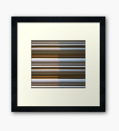 Ribbed 1 Framed Print