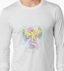 Fluttershy's Cloud Angel Long Sleeve T-Shirt