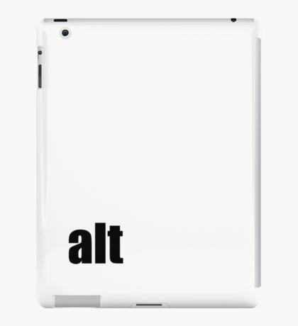 Alt iPad Case/Skin