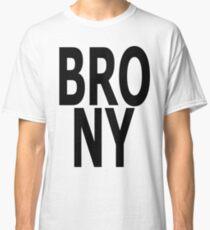 BRONY - (Black Text) Classic T-Shirt