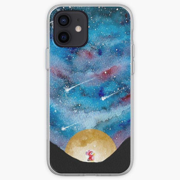 Celeste and the Night Sky iPhone Soft Case
