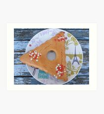 French Palm Sunday aniseed biscuit Art Print