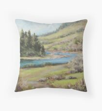 North Bank March Throw Pillow