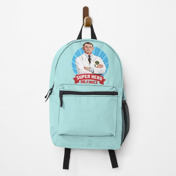 DR Fauci super Hero Backpack