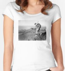 No greater hero Women's Fitted Scoop T-Shirt