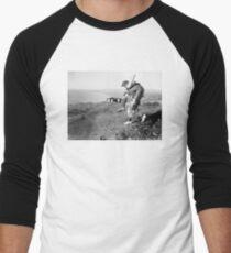 No greater hero Men's Baseball ¾ T-Shirt