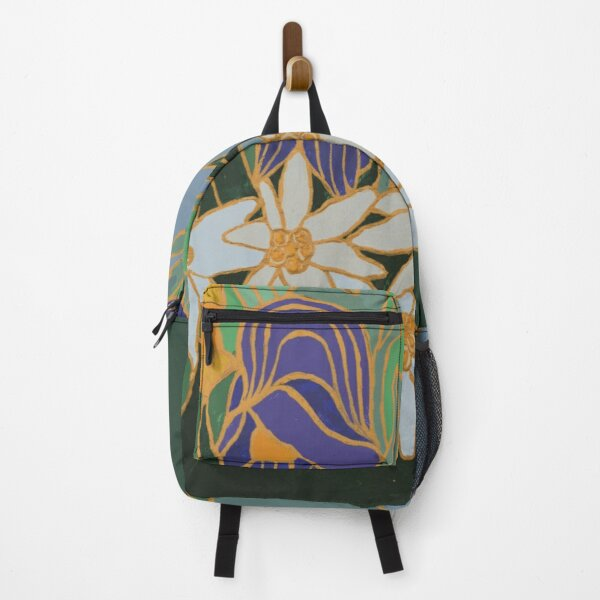 Monkshood and Edelweiss Backpack