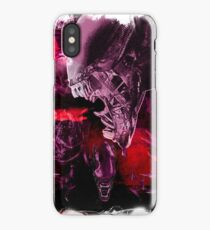 "Xenomorph ""Xenomorphobia"" Alien  iPhone Case/Skin"
