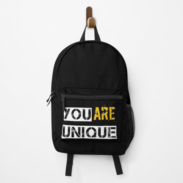 you are unique design Backpack