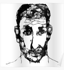 Self-portrait/imaginary -(150313)-  Program: The Scribbler Poster