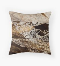 THE TEXTURE OF SPRING 5 of 5 Throw Pillow