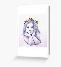 Christmas Child Greeting Card