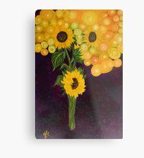 Sunflower's Dream Metal Print