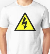 Electrical Warning Symbol T-Shirt