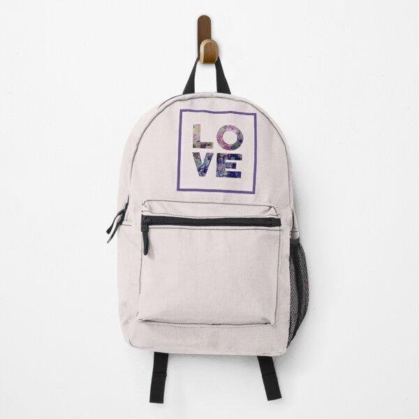 Succulent Uv LOVE #redbubble #love #ultraviolet Backpack