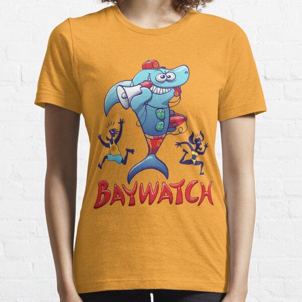 Baywatch Shark Essential T-Shirt