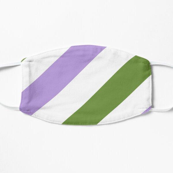 Genderqueer Pride Flag Stripes Mask