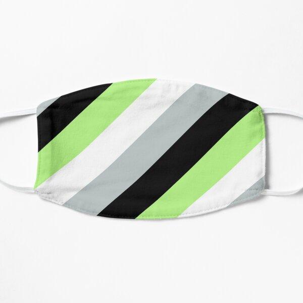 Agender Pride Flag Stripes Flat Mask