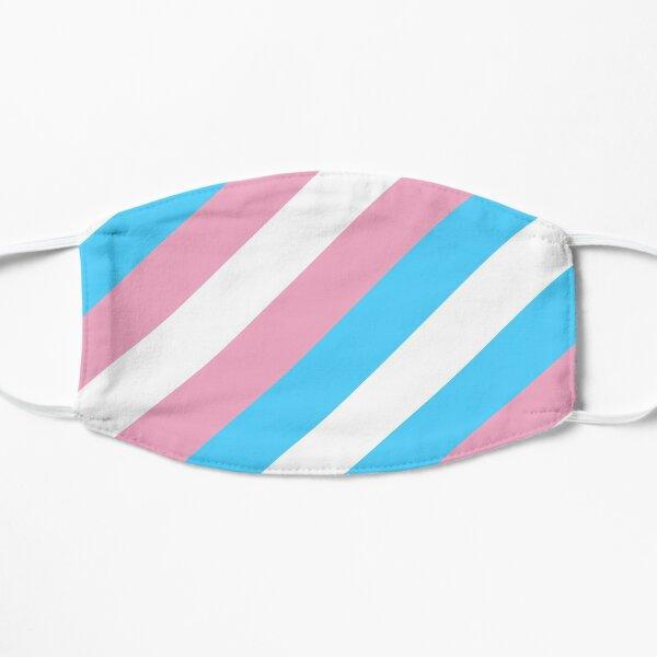 Transgender Pride Flag Stripes Mask