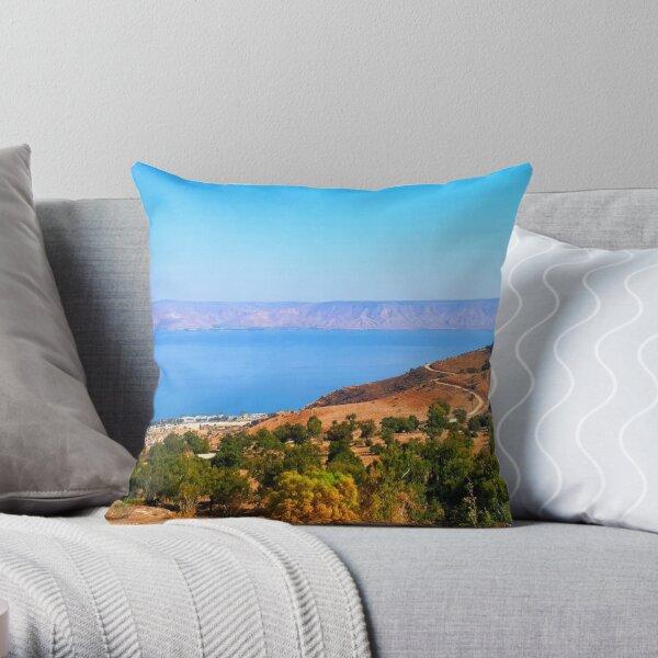 Sea of Galilee Throw Pillow