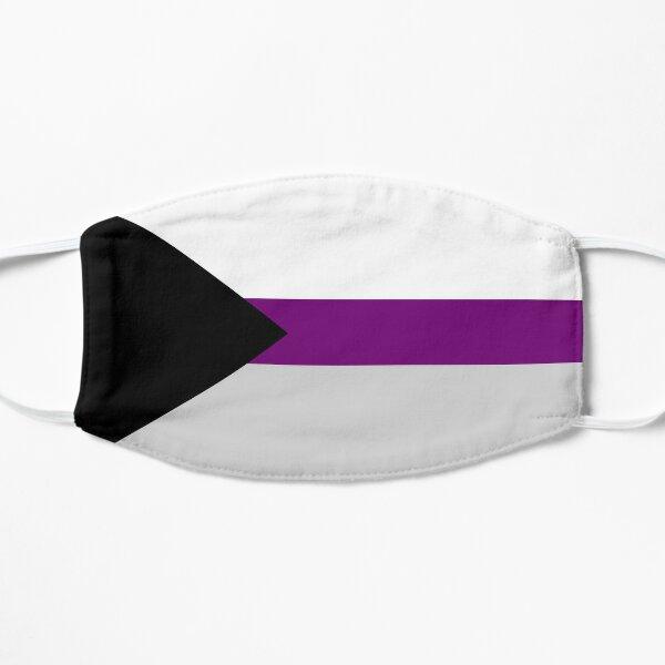 Demisexual Demi Pride Flag Stripes Mask