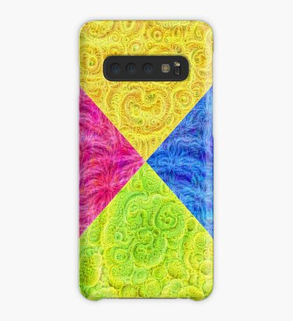 #DeepDream Color Circle Visual Areas 6x6K v1448932478 Case/Skin for Samsung Galaxy