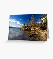 Killora Beach - Bruny Island, Tasmania Greeting Card