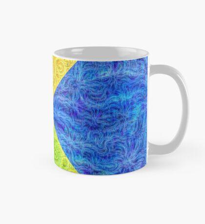 #DeepDream Color Circle Visual Areas 6x6K v1448932478 Mug