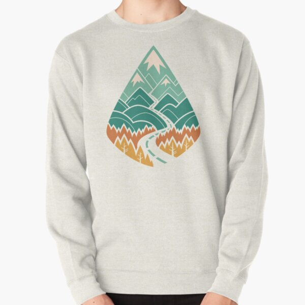 The Road Goes Ever On: Summer Pullover Sweatshirt