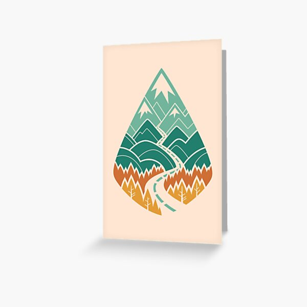 The Road Goes Ever On: Summer Greeting Card