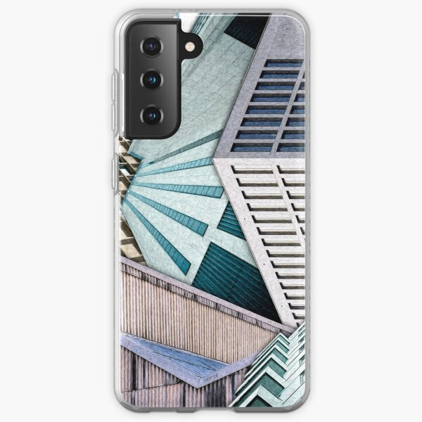 City Buildings Abstract Samsung Galaxy Soft Case