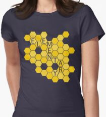 A Study in Honeycomb: Elementary Womens Fitted T-Shirt