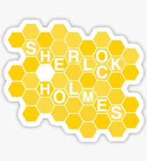 A Study In Honeycomb Sticker