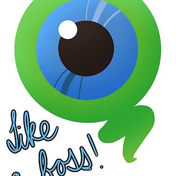 Sam the Septic Eye V.2 by skettiyeti