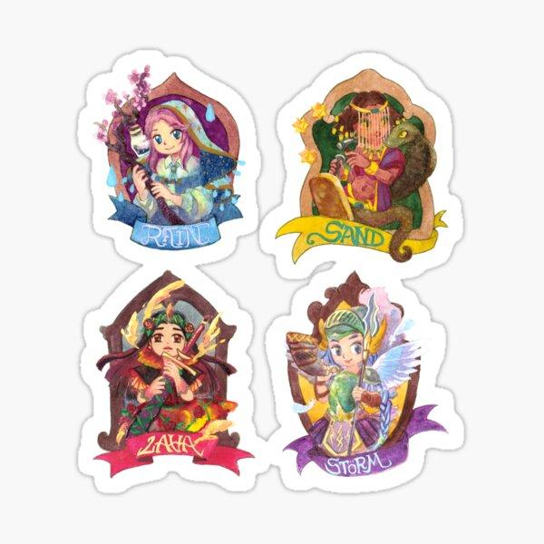 Goddess of Seasons Sticker