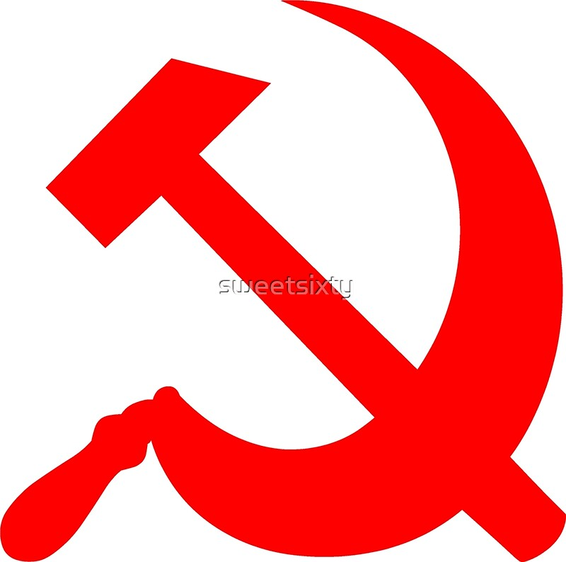 """""""Hammer and Sickle - Communist Symbol """" Posters by"""